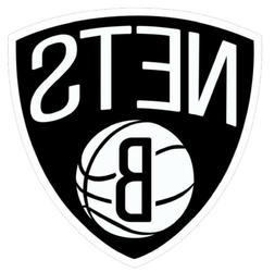 12 STICKERS BROOKLYN NETS-NBA Vinyl HQ Decal Stickers  CAR L