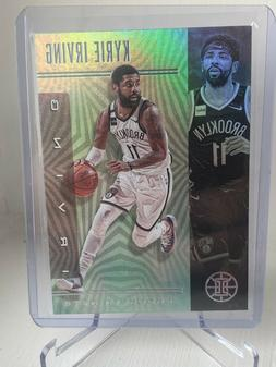 2019-20 ILLUSIONS Kyrie Irving-Emerald #145 SP Brooklyn Nets