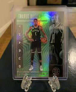 2019-20 Panini Illusions KEVIN DURANT Emerald Parallel SP.
