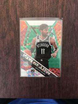 2019-20 Panini Mosaic Kyrie Irving Will to Win Green Prizm I