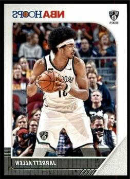 2019-20 Panini NBA Hoops Base #12 Jarrett Allen - Brooklyn N