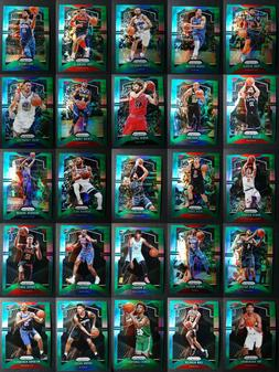 2019-20 Prizm Green Parallel Basketball Cards Complete Your