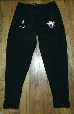 Authentic Nike Black Brooklyn Nets Team Issued Tearaway Warm