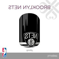 Authentic JAMBERRY Nail Wraps - NBA - Brooklyn Nets - Full S