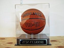 Brooklyn Nets Basketball Display Case For Your Team Signed B