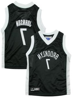 NBA Basketball Kids / Youth Brooklyn Nets Joe Johnson #7 Daz