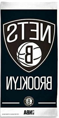 "Beach Towels 30"" x 60"" Fiber Reactive - NBA Brooklyn Nets Ba"