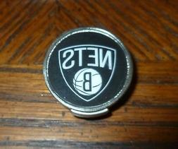 "Brooklyn Nets 1"" Golf Ball Marker with Hat Clip NBA Official"