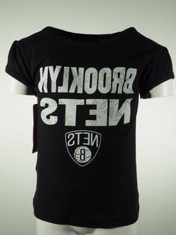 NBA Brooklyn Nets 100% Cotton Infant Toddler Girls T Shirt N