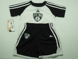 Brooklyn Nets 2 Piece Toddler Athletic Shirt & Shorts Set Of