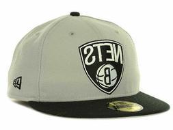 Brooklyn Nets New Era 59FIFTY NBA Current Logo Men's Fitted