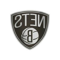 Brooklyn Nets Auto Badge Decal