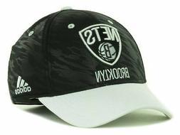 Brooklyn Nets Ball Cap Hat~Black  & White~ADIDAS~One Fit S/M