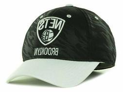 Brooklyn Nets Ball Cap Hat~Black  & White~ADIDAS~One Fit L/X