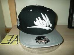 "BROOKLYN NETS BASEBALL CAP/HAT-MITCHELL & NESS FITTED 8""/BLA"