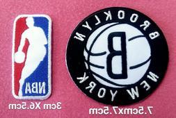 brooklyn nets basketball set2pcs patch sport embroidery