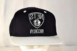 Brooklyn Nets Black/White Baseball Cap Snapback