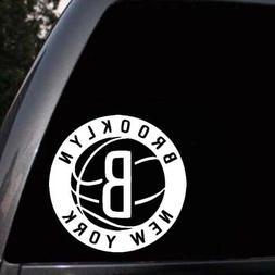 Brooklyn Nets Car Window Laptop Wall Truck Bumper Vinyl Deca