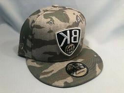 BROOKLYN NETS COMBO CAMO NEW ERA 9FIFTY SNAPBACK HAT CAP NBA
