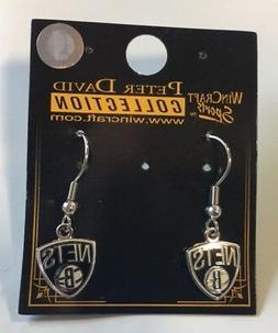 Brooklyn Nets Dangle Pierced Earrings NEW Jewelry - FREE U.S