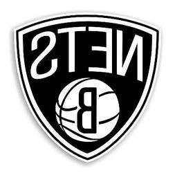 Brooklyn Nets Decal / Sticker Die cut