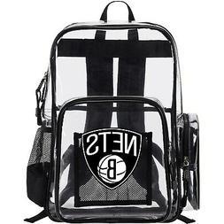 Brooklyn Nets The Northwest Company Dimension Clear Backpack