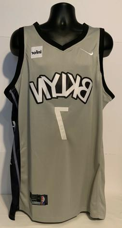 BROOKLYN NETS / Gray Jersey / #7 / NEW WITH TAGS / ADULT 2XL