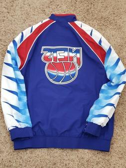 Brooklyn Nets jacket Mitchell & Ness NBA Warm Up nike carter
