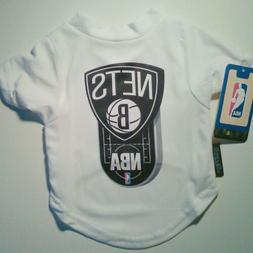 Brooklyn NETS Jersey DOG Pet T Shirt S or M Hunter NBA STORE