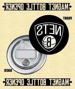 Brooklyn Nets - Magnet Bottle Opener - Choose From 12 Design