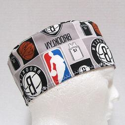 Brooklyn Nets Mens Scrub Hat, Surgical Cap, Chemo Hat, Skull