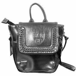 Brooklyn Nets Metallic Mini Backpack