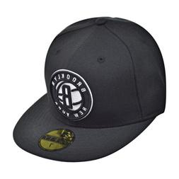 New Era Brooklyn Nets NBA 59Fifty Men's Fitted Hat Black/Whi