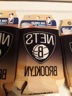 Brooklyn Nets NBA Basketball Can Koozie Cooler set of 5 plus