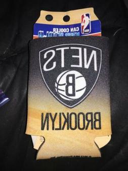 Brooklyn Nets NBA Basketball Can Koozie Sleeve Cooler