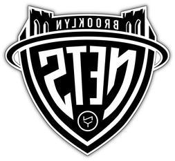 "Brooklyn Nets NBA Basketball Car Bumper Sticker Decal ""SIZES"