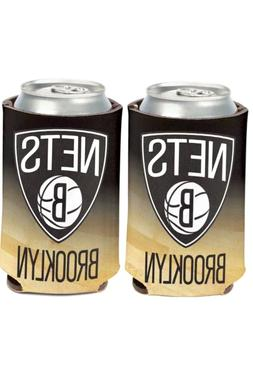 Brooklyn Nets NBA Can Coolers by Wincraft Made in the USA 1