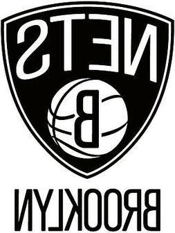 Brooklyn Nets NBA Color Die-Cut Decal / Car Sticker *Free Sh