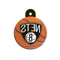 Brooklyn Nets NBA Dog/Pet ID Tag Custom Engraved--FREE SHIPP