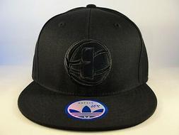 Brooklyn Nets NBA Adidas Fitted Hat Cap Size 7 3/4 Black
