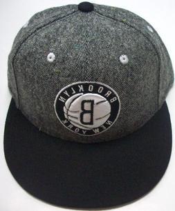 Brooklyn Nets Adidas NBA Grey Snap Back Hat