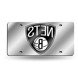 Brooklyn Nets NBA Laser Cut License Plate Tag