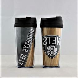 Brooklyn Nets NBA Licensed Acrylic Tumbler Coffee Mug w/wrap