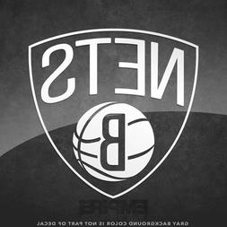 "Brooklyn Nets NBA Logo Vinyl Decal Sticker - 4"" and Larger -"