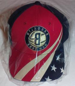 adidas BROOKLYN NETS NBA NEW YORK AMERICAN FLAG July 4th Pat