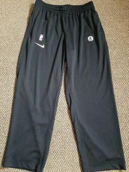 Nike Brooklyn Nets NBA Showtime Dry Flex Tech Pants Size 2XL