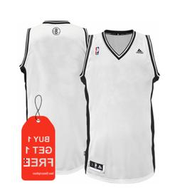 brooklyn nets nba white blank basketball jersey