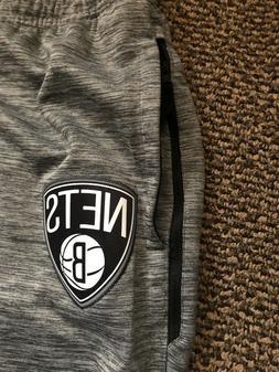 Nike Brooklyn Nets NFL Showtime Dry Flex Warm-up Pants Size