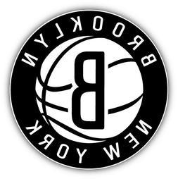 brooklyn nets nhl logo car bumper sticker