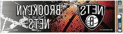 brooklyn nets official bumper sticker decal